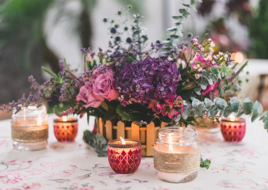 ¿Cómo decorar tarros de cristal para tu matrimonio?
