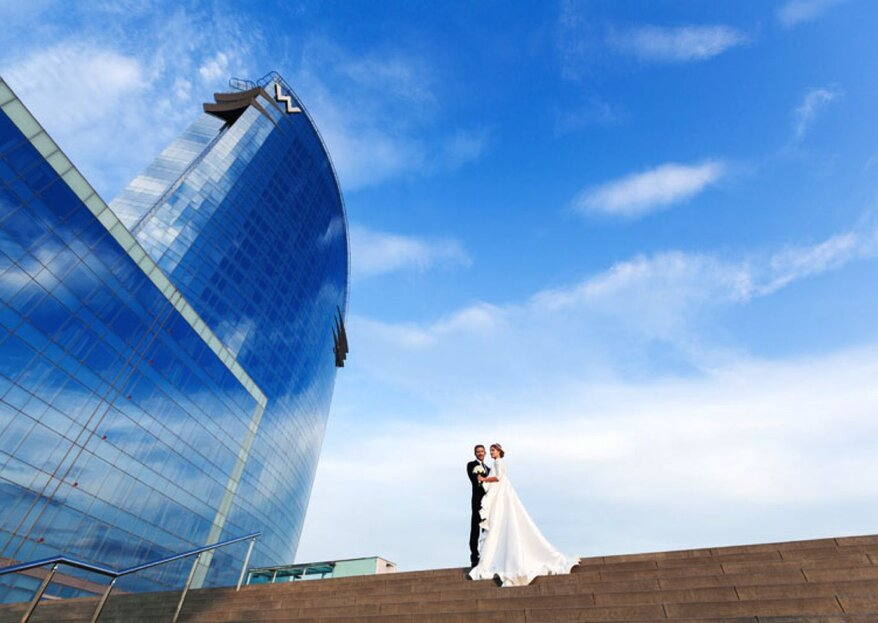 The Wedding You've Always Dreamed Of At The Hotel W Barcelona