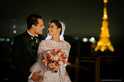 Andrezza & Cleuner: mini wedding clássico MEGA elegante no Tivoli São Paulo Mofarrej