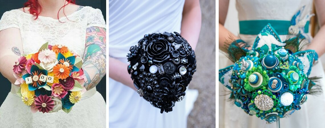 5 Stunning Alternatives to a Traditional Flower Bouquet: Dare to be Different on Your Big Day!