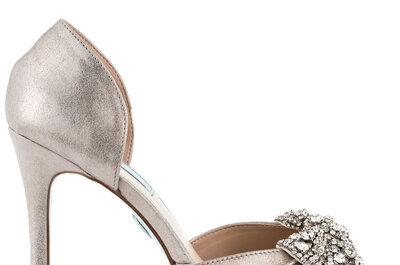 Le 60 scarpe da sposa più belle del 2015: tacchi, strass, fiocchi, colori e ancor di più!