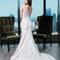Das perfekte Brautkleid für eine feminine Silhouette.