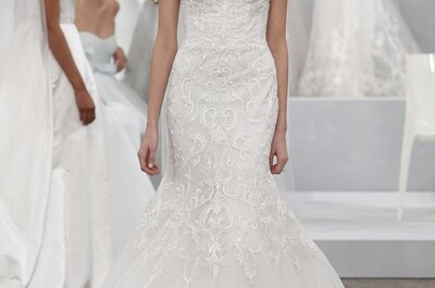 Die Brautmoden-Kollektion 2015 von Monique auf der New York Bridal Week