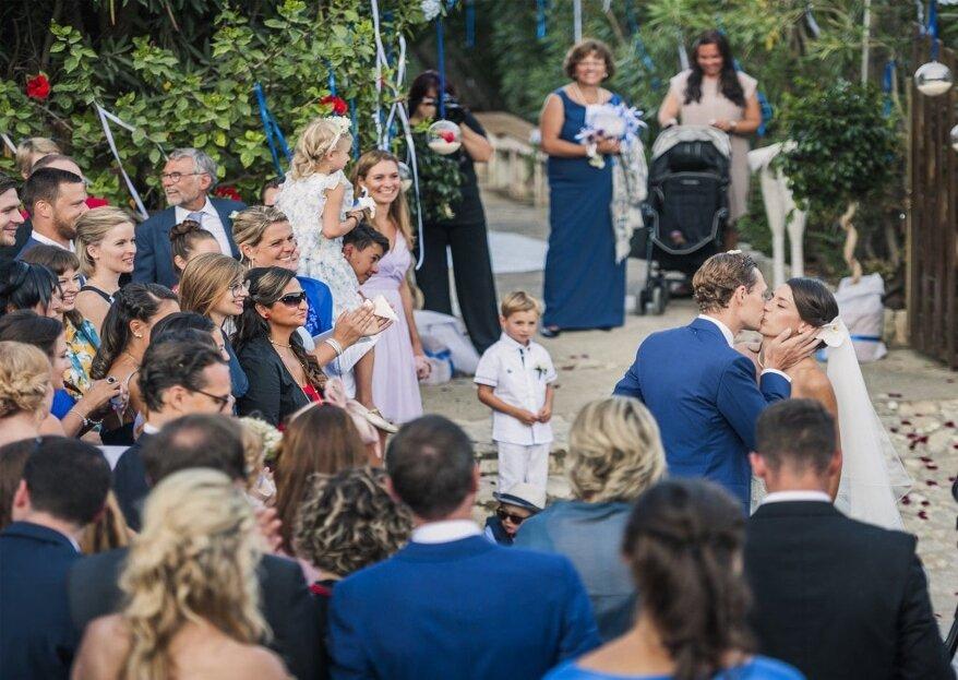 Emotions Weddings & Events: il servizio di wedding planner completo, partendo dalla creazione del concept fino al coordinamento e alla gestione delle nozze