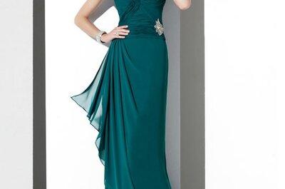 Moda 2012 para el vestido de la mamá de los novios