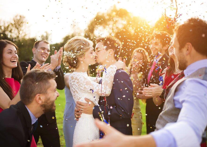 Que tu boda sea una sensación: ¡Coro, baile, música y hora loca son imprescindibles!