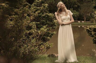 Noivas Karen Rodrigues: vestidos de noiva com fluidez, delicadeza e romantismo