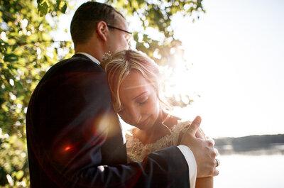 Eindrücke von einer zauberhaften Hochzeitsfeier in Mecklenburg-Vorpommern: Juliane & Martin heirateten in Fürstenhagen