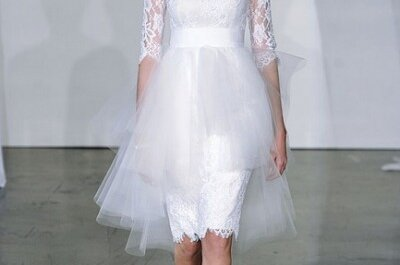 Top 5 con los mejores vestidos de novia 2013 para la boda civil