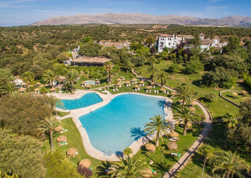 Los 6 aspectos a tener en cuenta para que tu boda sea perfecta: ¡celébrala en La Bobadilla, a Royal Hideaway Hotel!