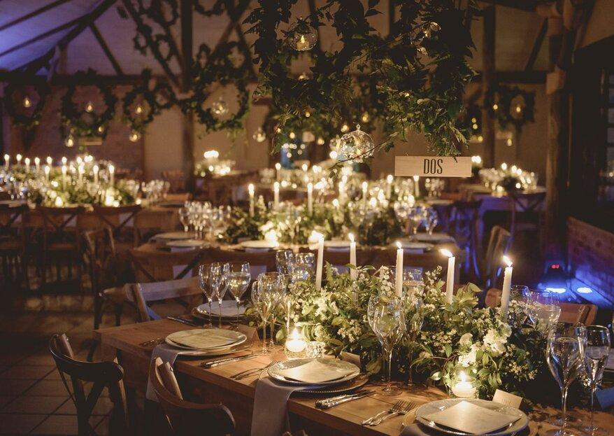 El mobiliario y su papel protagónico en la decoración de tu boda