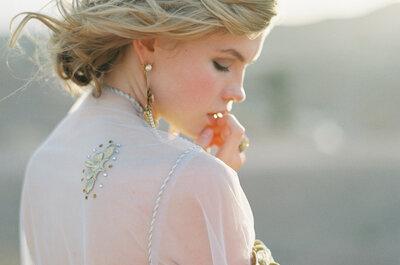 Adereza tu look de novia: Estos son los complementos must para tu estilismo