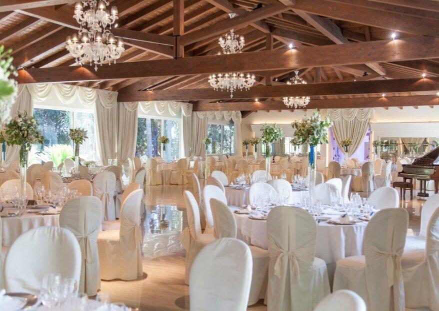 Villa Demetra: la cornice perfetta per un matrimonio all'aperto