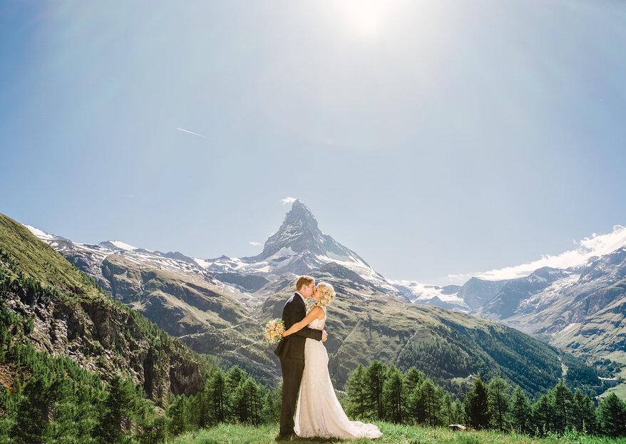 Heiraten in Zermatt! Warum Schweizer eine Hochzeit im schönen Zermatt so lieben.