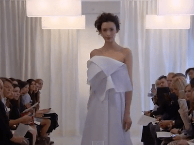 Ángel Sánchez 2016 Spring Bridal Collection Catwalk at New York Bridal Fashion Week
