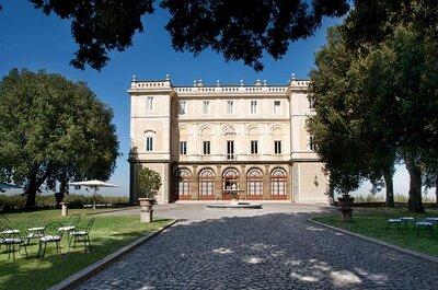 Park Hotel Villa Grazioli: una romantica terrazza panoramica su Roma