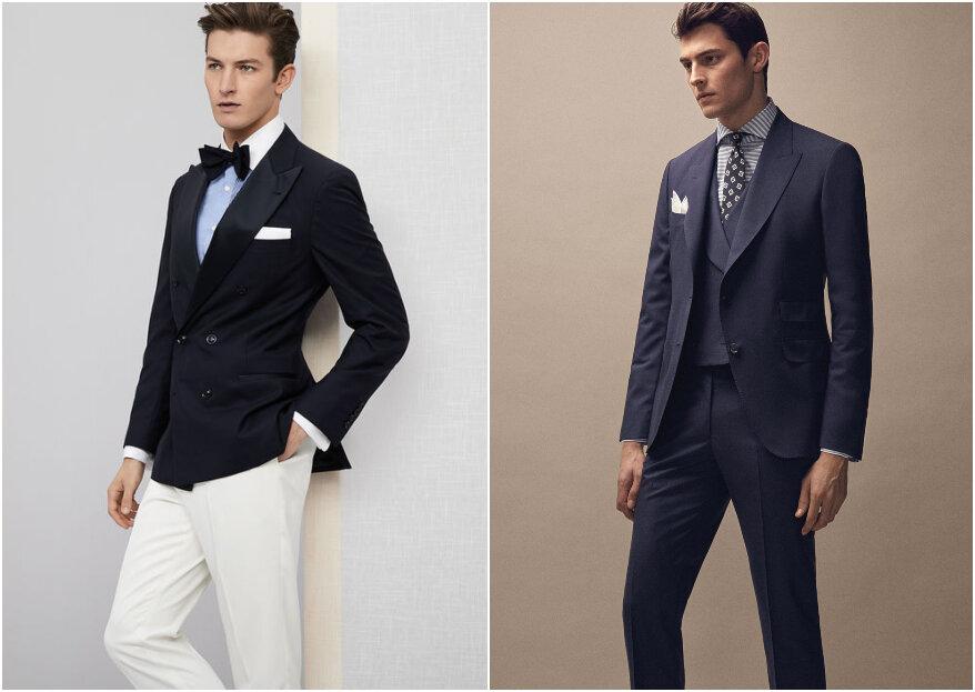 Cómo elegir el traje de novio: personalidad y prueba, entre los pasos para impactar