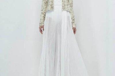 Vestido de noiva de inverno: a classe segundo Zuhair Murad
