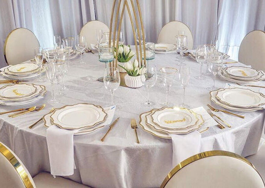 Descubre con Tagliaferry Company las claves para lograr una decoración de mesa perfecta