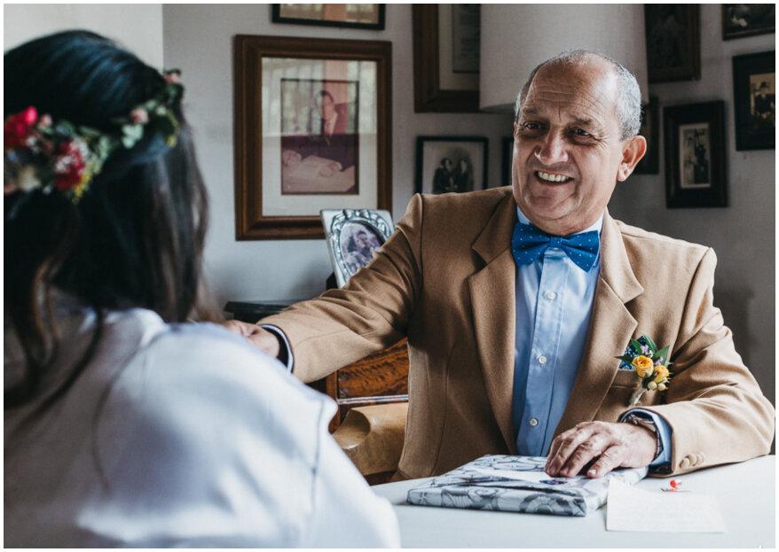 ¿Cuál es el papel del padre de la novia en la boda? Te contamos