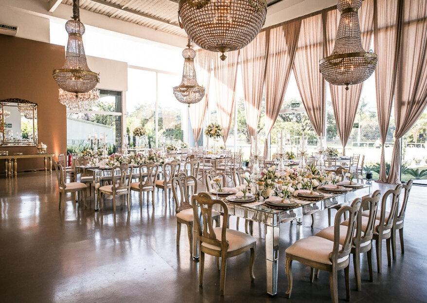 Descubra com a CasaPampulha os 10 itens encantadores que o espaço do seu casamento precisa ter!