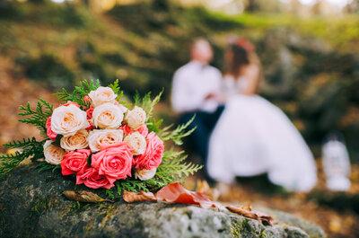 Cinco tipos de flores que triunfarán en tu ramo de novia este 2017