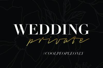 Wedding Private, non lasciatevelo raccontare