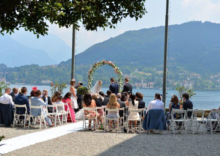 Villa Carlotta: residenza nobiliare da sogno sulle rive del Lago di Como, per nozze davvero indimenticabili!