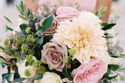 Los más bonitos ramos de novia silvestres 2017. ¡Te encantarán!