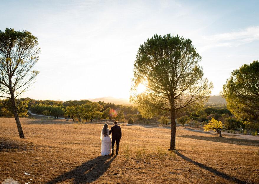 Célébrez le jour J au Comptoir Saint Hilaire dans un décor naturel aux airs romantiques