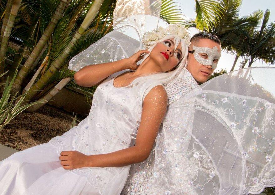Una boda de nunca olvidar, con el sorprendente show de Arabela Espectáculos