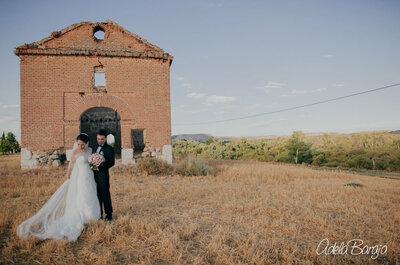 Quiero pasar el resto de mi vida contigo: la boda de Lis y Eric