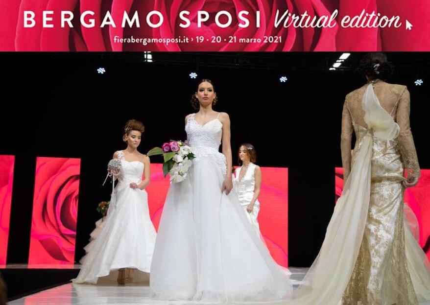 Bergamo Sposi si sposta sul web:  arriva la tre giorni «Virtual Edition»