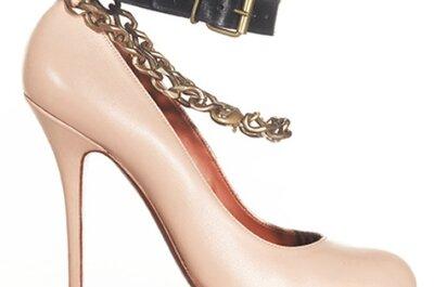 Scarpe da sposa colorate: per un tocco di follia da testa a piedi