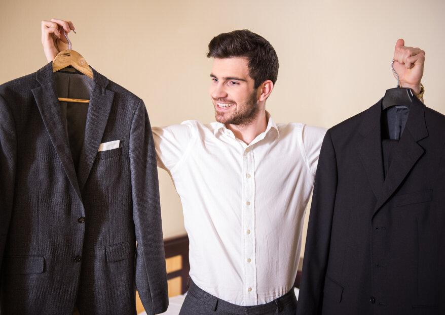 Cuidados del traje para novios e invitados: ¿cómo conservarlo con el paso del tiempo?