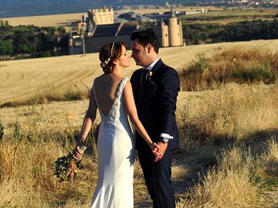 Felicidad concentrada en mil detalles: la boda de Amanda y David
