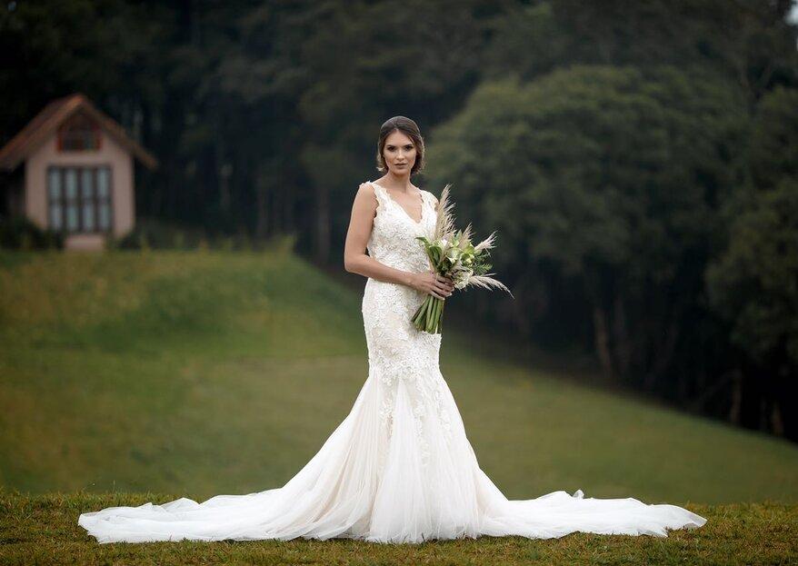 Villa de las Novias: Os mais lindos vestidos de noiva prontos para você subir ao altar em grande estilo