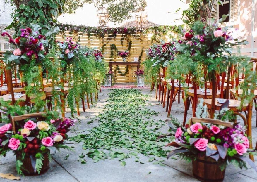 Solar das Palmeiras: um casarão histórico com belos jardins para que o seu casamento seja um sucesso garantido!