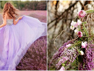 Decora il tuo matrimonio in stile provenzale: romanticismo d'ispirazione francese!