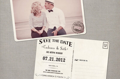 Convites de casamento originais para 2015