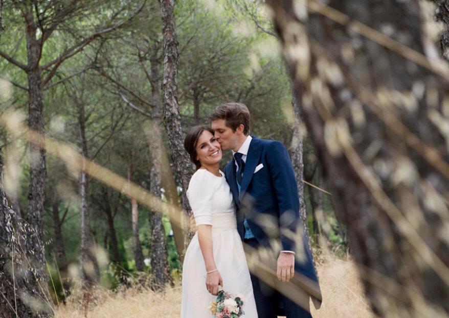Los novios más elegantes: la boda de Cristina y David