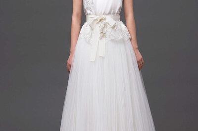 Tendencias vestidos de novia 2015: Alberta Ferretti, encanto e iluminación especial