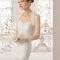 Hochzeits-Kleid: Brautkleid mit französischen Ärmeln mit Spitzendetails