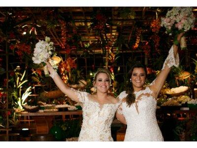 O casamento LINDO de Ana Luisa & Barbara em Trancoso: entrega total e inspiração para todos os sonhos!