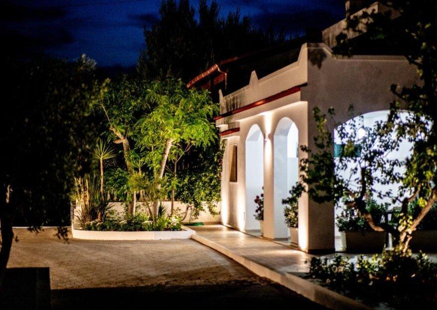 Luoghi di Puglia: una location tradizionale e caratteristica per un matrimonio originale, elegante e suggestivo