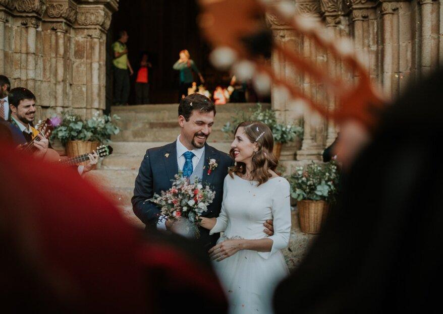 Seis años llenos de amor: la boda de Minerva e Isaac