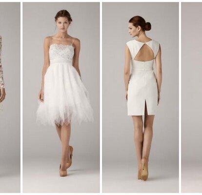 f478b09c6d Krótkie suknie ślubne z kolekcji Anny Kary 2014.