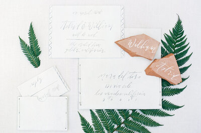 Los mejores tips para redactar perfectamente las invitaciones de boda