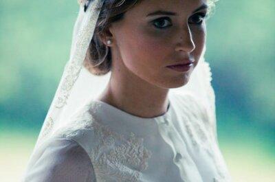 Consejos para elegir el tocado de la novia