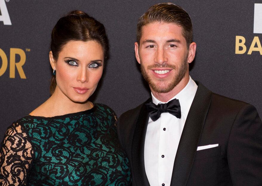 Grande expectativa: é já amanhã a boda de Sergio Ramos e Pilar Rubio!
